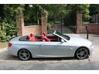 2010 BMW 325i M SPORT CONVERTIBLE PETROL AUTO 52,982 MILES SENSATIONAL EXAMPLE