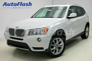 2013 BMW X3 Premium * Toit-Pano-Roof * Extra-Clean!*