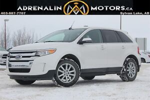 2014 Ford Edge Limited AWD, HEATED LEATHER AND SUNROOF!!