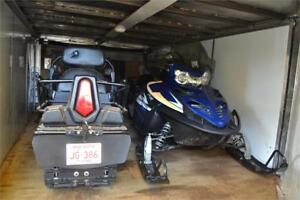 TWO 2013 Polaris  FS 750 WIDETRAK  with 1997 Remeq Trailer