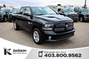 2013 Ram 1500 Sport -Touchscreen, Leather Interior