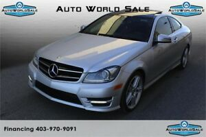 2015 MERCEDES BENZ C-350 | 2 -DOOR - HARMAN KARDON - PAN SUNROOF