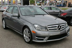"""2013 Mercedes-Benz C350 AWD 72 000kms 18"""" Mags"""