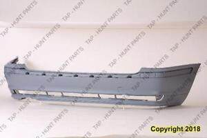 Bumper Rear Primed Without Sport Package Without Tow Package For Wagon Model BMW 3-Series (E46) 2001-2005