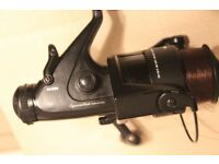 Silstar Specialist Fishing Reel with spare spool. Good condition.