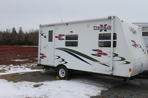 2008 TRAIL LITE CROSSOVER TLX-189QB TRAVEL TRAILER WEIGHS 2360lb