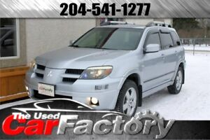 2006 Mitsubishi Outlander Limited AWD LOW LOW KM