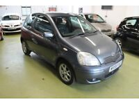 TOYOTA YARIS 1.3 VVT-I COLOUR COLLECTION, 55 PLATE, 53572 MILES FULL SERVICE HISTORY, 08/2018 MOT