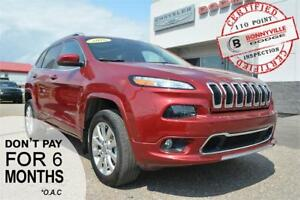 2016 Jeep Cherokee Overland- GREAT CONDITION, ONLY 19,426 KM