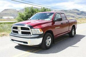 2012 Ram 1500 Quad Cab 4x4 - NEW BLOWOUT PRICE ONLY $19880!!