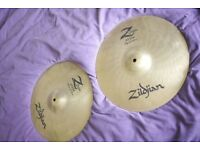 "Zildjian Z Custom 14"" Hi-Hats"