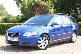 Volvo V50 1.8 2008 S STYLISH FAMILY ESTATE CAR MANUAL PETROL