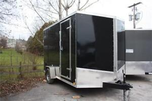 """2018 Discovery 7x12 Enclosed Cargo Trailer 12"""" Extra Height"""