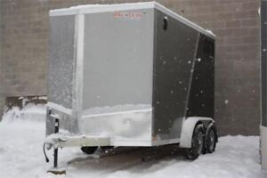 2018 Discovery 7X12 Mission All Aluminum Enclosed Cargo Trailer