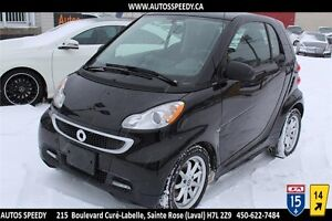 2014 SMART FORTW PASSION ELECTRIC DRIVE/NAVIGATION/TOIT/GARANTIE