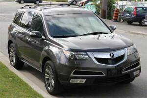2010 Acura MDX SH-AWD ELITE PACKAGE *NAVI+CAM+7STR+DVD+BLINDSPOT