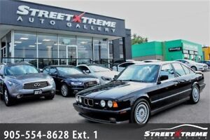 1991 BMW M5 | Low KMs | SAFETY CERTIFIED | A/C | Accident Free