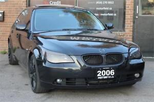 """2006 BMW 5 Series 525i *NO ACCIDENTS, NAVI, 19"""" RIMS, MINT*"""