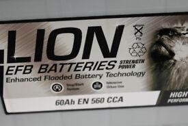 Lion 027 EFB 60AH 560CCA