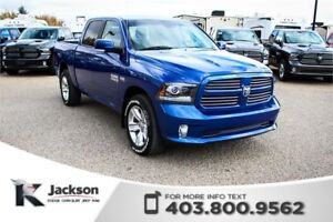 2015 Ram 1500 Sport - Touchscreen, Satellite Radio