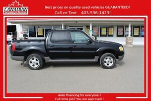 2003 Ford Explorer Sport Trac XLT Loaded 4x4 Financing for ALL!