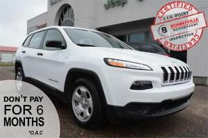 2017 Jeep Cherokee- ONLY 20,000 KMS, GREAT CONDITION