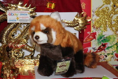 WEBKINZ SIGNATURE ENDANGERED RED PANDA-COMES WITH UNUSED/SEALED CODE-NICE GIFT