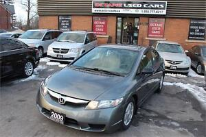 2009 Honda Civic Sdn DX-G - ONE OWNER - GET APPROVED NOW