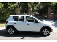 64 PLATE DACIA SANDERO STEPWAY 0.9 AMBIANCE 5DR 1 OWNER FROM NEW 65,083 MILES