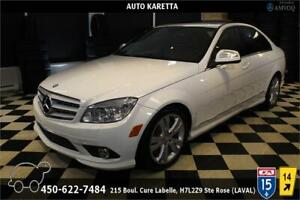 2009 MERCEDES C300 4MATIC/AWD TOIT OUVRANT, XENON, BLUETOOTH