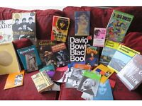 JOB LOT OF BOOKS MUSIC . FILM , HARDBACKS / MAGAZINES / 1ST EDITIONS .COLLECTABLE