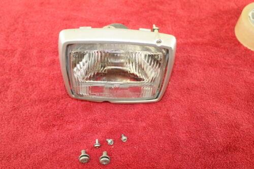83-84 YAMAHA RIVA XC180 OEM FRONT HEAD LIGHT LAMP HEADLIGHT