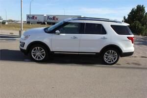 2017 Ford Explorer Limited  - Sunroof - Low Mileage