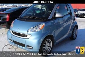 2012 SMART FORTWO PASSION 10.623 KM, NAVIGATION, BLUETOOTH, MAGS