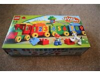 Lego Duplo Number Train - Like New, Complete Set, Ideal Xmas Present