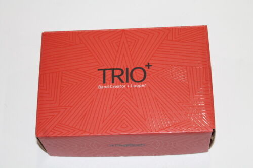 Digitech Trio+ Looper plus band (drums and bass) creator