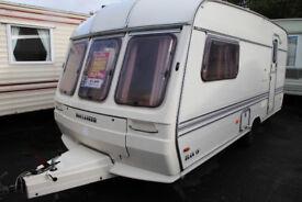 Bussaneer Elan 15 1991 2 Berth Caravan £1600