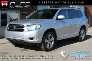 2009 Toyota Highlander AWD ** LEATHER ** MOONROOF ** 7-SEATER **