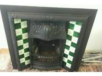 Reduced Cast Iron Fireplace