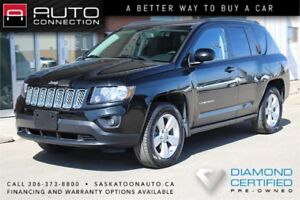 2014 Jeep Compass North Edition 4x4 ** LEATHER ** BLACK ON BLACK