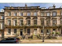 Magnificent 4 Bedroom ground and garden flat in Edinburgh's desirable West End. Unfurnished.