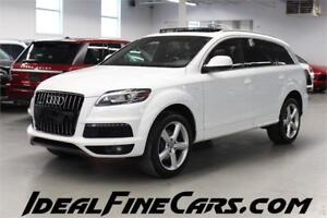 2012 Audi Q7 3.0 SLINE NAV/PUSH START/BLIND SPOT ASSIST/PANO