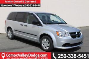 2012 Dodge Grand Caravan SE/SXT LOCAL ONE OWNER, LOW KILOMETE...