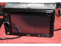 JVC KW-V10 Car Stereo DVD/CD, AM/FM/USB