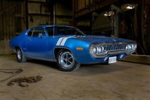 1971 Plymouth GTX, numbers matching collector