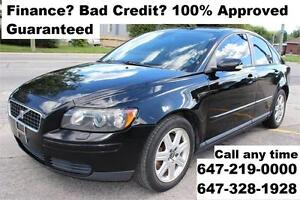 2005 Volvo S40 2.4L Auto Leather FINANCE 100% Approved WARRANTY