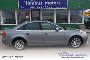 2009 Audi A4 Premium/AWD/LTHR HTD SEATS/MOONROOF/LOADED!!