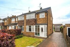 Newly decorated three-bed semi in Fulford York