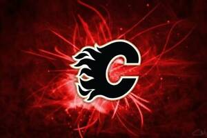 1/2/3/4/6 CALGARY FLAMES TICKETS TO ALL HOME GAMES !