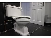 Savoy close coupled toilet - Brand new in boxes